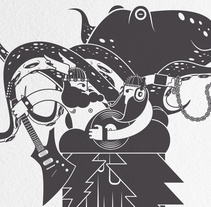 Ragnarök. Un proyecto de Dirección de arte, Diseño gráfico e Ilustración de Daniel Vidal - Jueves, 21 de abril de 2016 00:00:00 +0200