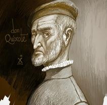 Don Quixote de la Mancha. Un proyecto de Ilustración de Manu Díez         - 21.04.2016