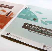 Comercio Justo. A Design, Illustration, and Editorial Design project by Laura  Losilla  - 20-04-2016