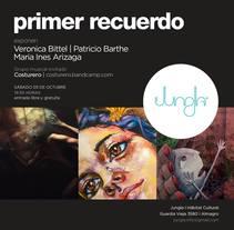 Primer RecuerdoNuevo proyecto. A Illustration, Character Design, and Collage project by María Inés Arizaga         - 30.04.2016