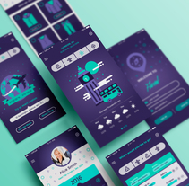 Mi Proyecto del curso: Diseño de Interfaces con Sketch. A UI / UX, and Graphic Design project by Lara Pino Castillo         - 04.06.2016