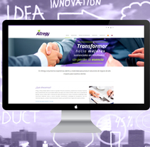 Altregy Consulting. A Web Development project by As Diseño Diseño Web Monterrey         - 01.05.2016