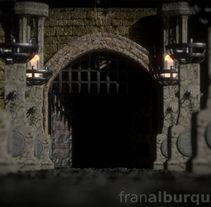 Fortaleza medieval marítima 3D. A 3D project by Fran Alburquerque         - 14.01.2015