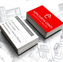 Branding Inmobiliaria Azpilcueta Conti. Un proyecto de Diseño gráfico de Nadia Ramos         - 04.05.2016