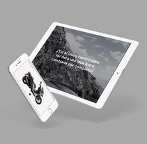 Kymco Xciting 400i ABS — Digital publishing app . Un proyecto de UI / UX, Diseño editorial y Diseño interactivo de Gemma Busquets - 08-05-2016