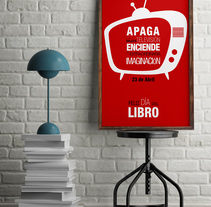 Cartel Día del Libro. A Graphic Design project by Inmaculada  Gutiérrez Mier - 14-04-2016