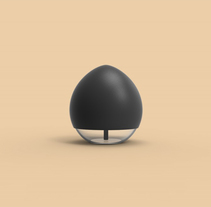 Egg.  Un nuevo producto para Umbra | A new soap disepenser for Umbra. A Industrial Design project by Aritz Molinero - 15-05-2016