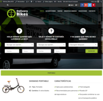 Delivery Bikes BCN. A Br, ing, Identit, Product Design, and Web Development project by Juan Andrés Moreno Rubio - 16-05-2016
