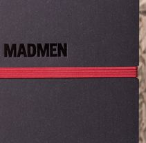 Cuaderno para la serie Mad Men. A Design, Creative Consulting, and Marketing project by Omán Impresores         - 17.05.2016