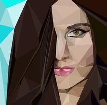 Retrato Geométrico. Un proyecto de Ilustración y Diseño gráfico de Miriam Ruiz         - 17.05.2016