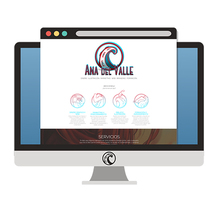 Diseño web AnadelValle.com. Un proyecto de Diseño Web de Ana del Valle Seoane         - 29.02.2016