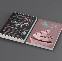 BIRTHDAY INVITATION. A Graphic Design project by Isabel Saez Perez - 20-06-2014