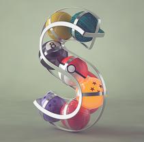 Alfabeto | 36 Days of Type. Un proyecto de Diseño, Ilustración, 3D, Dirección de arte y Tipografía de camilobelmonte - 23-05-2016