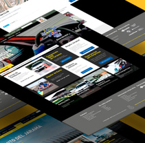 Web Circuito Jarama. A Graphic Design, Interactive Design, UI / UX, and Web Design project by Niko Tienza - May 15 2014 12:00 AM