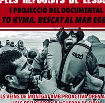 Festa Solidària a favor de Proactiva Open Arms. A Design, Advertising, and Graphic Design project by Gisela Neira Santanach         - 21.05.2016
