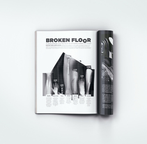Broken Floor | Infografía. Ejercicio libre de creatividad. A Editorial Design, Graphic Design&Infographics project by Aníbal Carbonero - Jun 02 2016 12:00 AM
