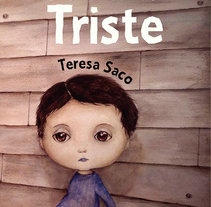 la niña triste. A Illustration project by Teresa Saco Burgos - 10-02-2016