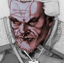 Geralt de Rivia. En proceso.. Um projeto de Artes plásticas de Alejandro Guzmán Carrasco         - 03.06.2016
