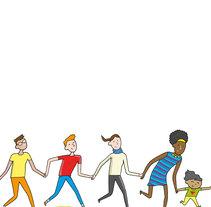 UNICEF (En Babia Comunicación) . Un proyecto de Ilustración de Miguel B. Núñez         - 05.06.2016