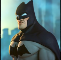 Batman. A 3D project by David Vercher  - Jun 17 2016 12:00 AM
