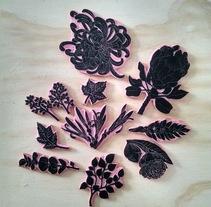 Experimentando con Carvado de Sellos por Anna López Real. Um projeto de Artesanato de Aldo Hermes         - 17.06.2016