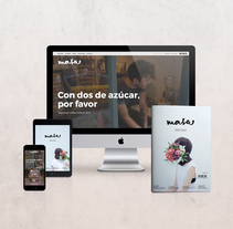 MASA - Magazine for enjoyers. Un proyecto de Diseño editorial y Diseño gráfico de Georgina Maldera - 19-06-2016