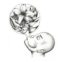 Flower Bubble Gum. Un proyecto de Ilustración de Pe And The Cosmic         - 21.06.2016