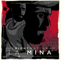 """""""Jack"""" La Mina (The Night Watchman). Un proyecto de Ilustración y Diseño gráfico de Javier Vera Lainez - 23-06-2016"""