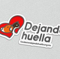 Dejando Huella Fundación. Um projeto de Br e ing e Identidade de Emmanuel Lozano         - 27.06.2016