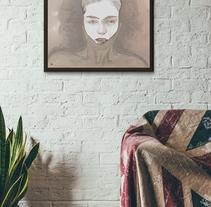 Dama en el vino. Un proyecto de Diseño, Ilustración y Bellas Artes de Juan Sebastian Cárdenas Rodríguez         - 29.06.2016
