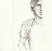 Fast sketch. Un proyecto de Ilustración y Bellas Artes de Mentiradeloro Esther Cuesta - 03-07-2016