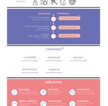 CV. Un proyecto de Diseño de Hillary Goncalves         - 04.07.2016