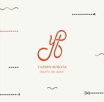 Monograma para diseñadora de indumentaria. A Graphic Design project by Melo Amarfil         - 05.07.2016