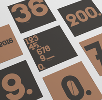 Numbers. A Design, T, and pograph project by Pablo Moreno - 05-07-2016
