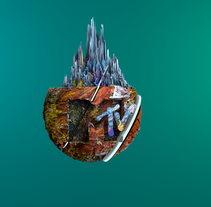 MTV Bumper -. Um projeto de Motion Graphics, Cinema, Vídeo e TV, 3D, Animação, Pós-produção e VFX de Aleix Asla Prunera         - 13.07.2016