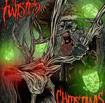 Merry Twisted Christmas. A Illustration project by HǢl Phlegathon - Dec 20 2015 12:00 AM