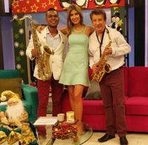 Entrevista Marlon Geles en Las Mañanas Con Uno. Um projeto de Música e Áudio de Marlon Geles Saxofonista Bogotá  - 13-07-2016