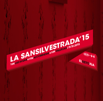La Sansilvestrada´15. A Art Direction, and Web Design project by kanitres - 15-12-2015