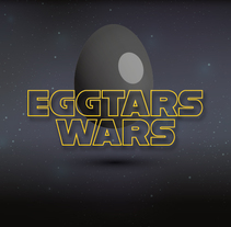 STAR WARS WITH EGGS. A Design, Illustration, and Fine Art project by javi rivas - 20-07-2016