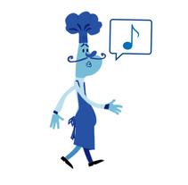 Chef animado. A Animation, and Character Design project by Javier García García de Iturrospe         - 21.07.2016