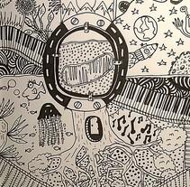 Mitocondria. Un proyecto de Diseño, Ilustración, Diseño de personajes, Diseño gráfico y Collage de Dani Sanguineti - 26-07-2016