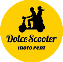 Dolce Scooter. A Illustration, Br, ing, Identit, and Calligraph project by Elena Alexeeva         - 01.08.2016