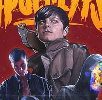 KIDS OF THE APOCALYPSE Poster. Um projeto de Ilustração de Dani Blázquez         - 05.08.2016