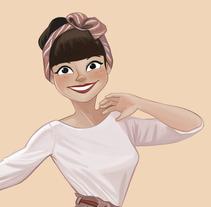 Lindy Hopper. Un proyecto de Ilustración y Diseño de personajes de Paloma García de Soria Lucena         - 09.08.2016