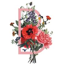 Alfabeto botánico. Un proyecto de Diseño y Dirección de arte de Lucía Alonso - 10-05-2016
