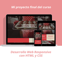 Proyecto de Desarrollo Web Responsive con HTML y CSS. A Design, and Web Design project by Edu Benavente         - 05.09.2016