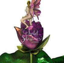 Me siento como un hada que vive en una flor. . A Design, Illustration, Art Direction, Character Design, Fine Art, Graphic Design, Painting, and Comic project by Isabel Sebastián - 18-08-2016