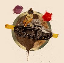 ESCAPAR. Un proyecto de Ilustración y Collage de Ricardo Calvo         - 20.02.2012