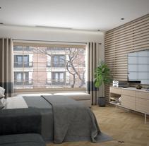 Apartamento en Madrid. A Design, 3D&Interior Architecture project by Alfonso Perez Alvarez         - 24.08.2016