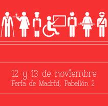 Empleo y Discapacidad 2014 - Imagen y Material Gráfico. Un proyecto de Diseño, Diseño editorial y Diseño gráfico de Nuria Muñoz - 28-08-2016
